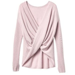 Athlete Finale Blush Pink Cashmere blend sweater S